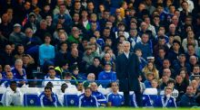 Jose Mourinho looks on during the Barclays Premier League match against Southampton at Stamford Bridge. Photograph: Julian Finney/Getty Images
