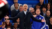 Jose Mourinho: Chelsea manager under growing pressure  as champions suffer a poor   start to the season. Photograph: Jed Leicester/PA