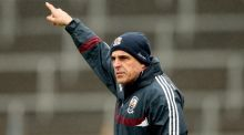 Anthony Cunningham has no intention of stepping down as Galway manager. Photograph: James Crombie/Inpho