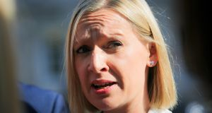 Renua Ireland leader Lucinda Creighton has called on Fianna Fáil leader Micheal Martin to 'calm public disquiet' following controversy over the absence of a prosecution in a road traffic accident involving a Limerick Fianna Fáil councillor. Photograph: Gareth Chaney Collins