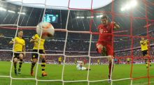 Bayern Munich enjoyed a 5-1 win over Borussia Dortmund at the Allianz Arena in Munich. Photograph: EPA