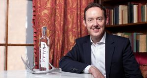 Patrick Shelley of  Origin Spirits. Its first product, Kalak Vodka, is being launched this month.