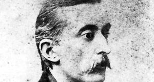 Lafcadio Hearn, ground-breaking journalist, translator and writer, in 1895