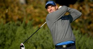 Pádraig Harrington: One of eight Irish players in the field for the British Masters at Woburn.