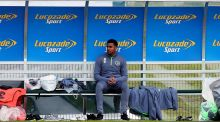 Cyrus Christie at the Republic of Ireland squad's training centre,  in Abbotstown, Dublin on Monday: the Derby County defender is likely to play against Germany due to Séamus Coleman's hamstring problem. Photograph: Donall Farmer/Inpho