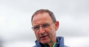 Republic of Ireland manager Martin O'Neill. Photograph: Donall Farmer/Inpho