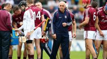 Galway manager Anthony Cunningham is not planning on leaving his post. Photograph: Cathal Noonan/Inpho