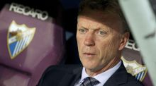 David Moyes is now coaching Real Sociedad in La Liga. Photograph: EPA