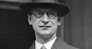 Éamon de Valera's twin passions were the Irish language and maths. Photograph: Hulton Archive