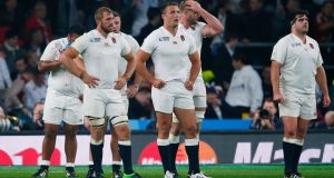 England's Sam Burgess has not been included in the matchday squad to play Uraguay. Phtoograph: Eddie Keogh/Reuters