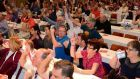 Delegates at the Siptu biennial delegate conference. Photograph: @Siptu