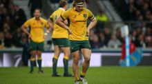 Australia flanker Michael Hooper was cited for an alleged act of foul play during the Wallabies' 33-13 World Cup victory over England on Saturday. Photograph: Lynne Cameron/PA