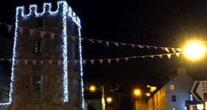Curfew Tower in Cushendall, Co Antrim. Photograph: Tracey Moberly