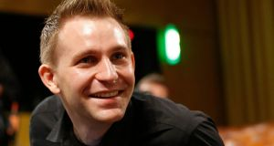 Austrian Max Schrems waits for the verdict of the European Court of Justice in Luxembourg yesterday. Photograph: EPA/Julien Warnand