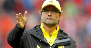 Jurgen Klopp is close to becoming Liverpool's new manager with the 48-year-old expected on Merseyside on Thursday to finalise terms with the Anfield club. Photograph: PA