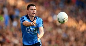Dublin's Paddy Andrews is September's player of the month. Photograph: Cathal Noonan/Inpho