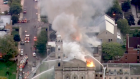 Flames engulf historic church