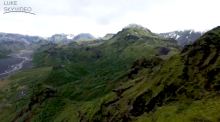 Drone footage captures the beauty of Iceland