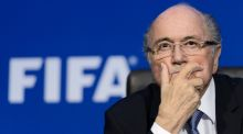 The Fifa ethics committee have provisionally banned Sepp Blatter for 90 days. Photograph: Afp