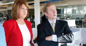 Joan believes Enda is referring to the date of the general election. But then again, Joan is a martyr to the prolixity. It's no surprise that these discussions go on for some time.  Photograph: RollingNews.ie
