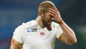 A dejected Chris Robshaw after England lost to Australia in the Rugby World Cup last Saturday. Katie Walsh asks: why do we keep wishing for England to lose at everything? Photograph: Stefan Wermuth/Reuters
