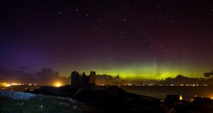 NORTHERN LIGHTS: Aurora over the Aran Islands. Photograph: Cormac Coyne