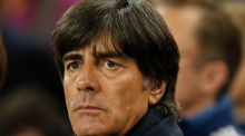 "Joachim Löw:    ""Overall I think it was one of the most unnecessary defeats we have had to accept in recent years."" Photograph: Phil Noble/Reuters"