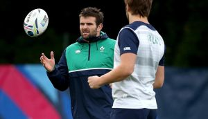 Jared Payne will not  face France on Sunday. Photograph: Dan Sheridan/Inpho