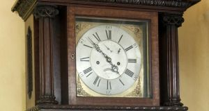 Times past: 'Speaker's Clock' that plays 'God Save the Queen' was previously on loan to Leinster House