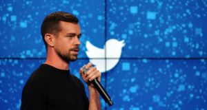 Jack Dorsey, the new chief of Twitter. Photograph: Bryan Thomas/The New York Times