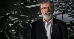 Gerry Adams: The responses point to the continued isolation of Sinn Féin from the political mainstream. Photograph: The Irish Times