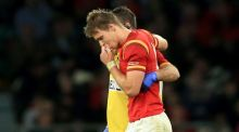 Wales lose Liam Williams after foot injury suffered in loss to Australia
