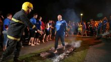 Fire walk with me. Ah go on, it's for charity