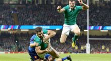 Ireland secure famous victory over France in Cardiff