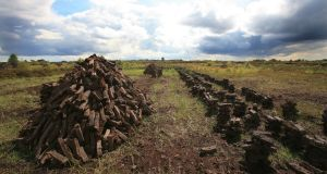 Bord na Móna  will stop harvesting peat and  will complete its move to a sustainable business within 15 years. Photograph: Eamonn Farrell/RollingNews.ie