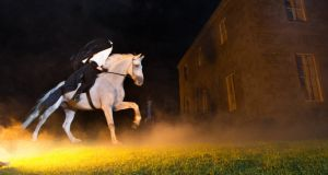 The Headless Horseman at Tankardstown House, Meath, from the Spirits of Meath Halloween festival. Photograph: Barry Cronin
