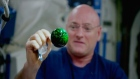 Fun in space: NASA astronauts conduct liquid experiment