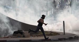Day of Rage: Palestinian groups have called for a 'Day of Rage' across the West Bank, Gaza and East Jerusalem today.  Photograph: AFP Photo/Getty Images