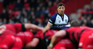 Bristol's Gavin Henson playing an  IPA Championship match last February. Photograph: Dan Mullan/Getty Images