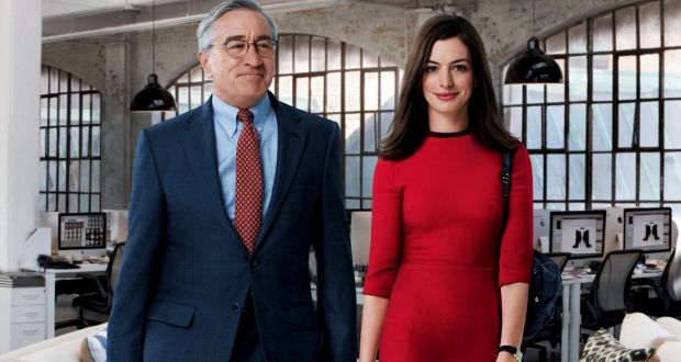 Role-playing: Robert De Niro and Anne Hathaway learn some valuable lessons about the age gap in 'The Intern'