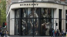 Burberry fell 9 per cent after the company missed forecasts for first-half sales growth. Photo: PA Wire