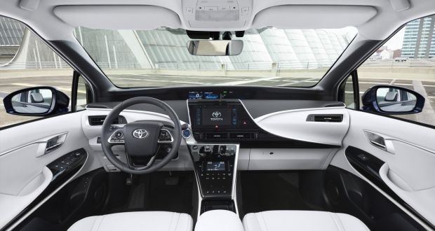 Is Toyota's hydrogen-powered Mirai, the future of motoring?