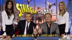 Ezio Greggio (left) on his weekly satirical news show: the Italian television star paid a €45,000 fine to avoid a jail sentence for tax evasion