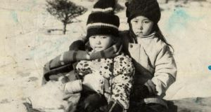 Yeonmi Park and her older sister, Eunmi. Photograph from Yeonmi Park's book In Order to Live