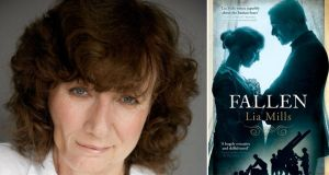 "Lia Mills: ""I'm delighted that Fallen has been chosen for the Dublin: One City One Book festival in 2016.  I wanted this novel to explore a fresh perspective, starting with the question: what would it be like to find your city taken over by forces you don't recognise?"""