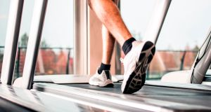 Stopping the treadmill with your tummy, and where you might need to use Vaseline