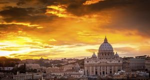 The Vatican city in Rome. Photograph: Thinkstock