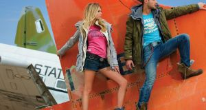 Superdry:   also has stores in Suffolk Street and Dundrum in Dublin, and at Dublin Airport and Kildare Village