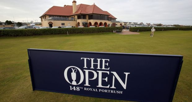 The Clubhouse At Royal Portrush In Co Antrim P Ograph Pa