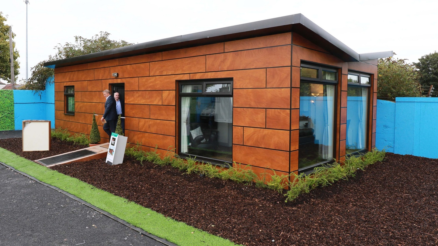 units approved for homeless in dublin with modular homes definition